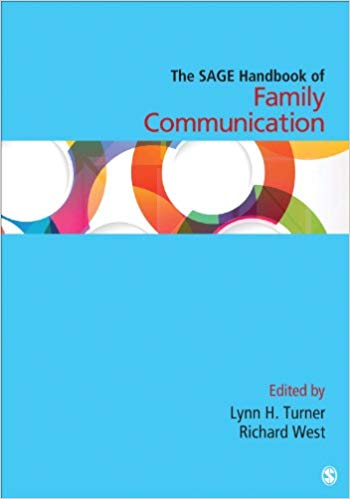 "Cover of ""The SAGE Handbook of Family Communication"""