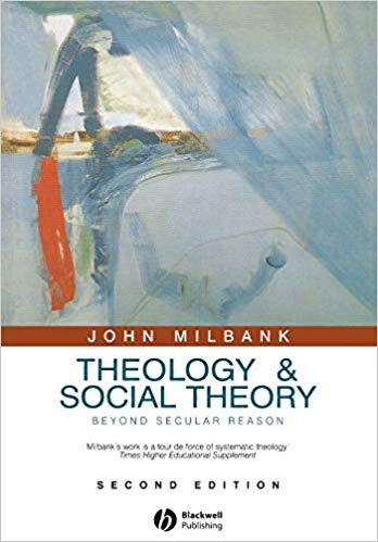 "Cover of ""Theology and Social Theory"" book"