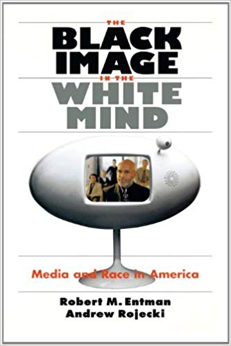 "Cover of ""The Black Image in the White Mind"" book"