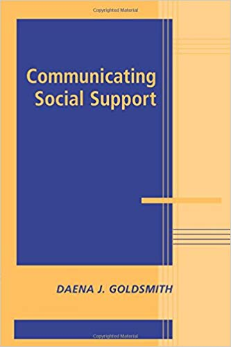 "Cover of ""Communicating Social Support"" book"