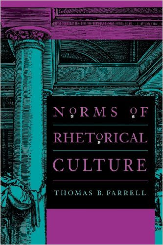 "cover of ""Norms of Rhetorical Culture"" book"